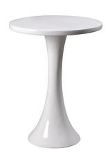 Kenroy Home 65012WH - Snowbird Accent Table