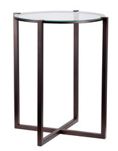 Kenroy Home 65023SBRZ - Lodin Accent Table