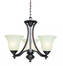 R.A.M. Lighting KIT-15SC ORB - Up Chandelier