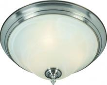 R.A.M. Lighting SUD-13F SN - Bowl Flush Mount