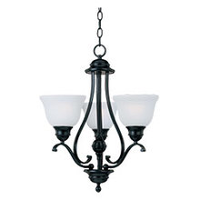 Maxim 11804ICBK - Linda 3-Light Chandelier
