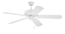 "Craftmade CES52W - Pro Energy Star 52"" Ceiling Fan in White (Blades Sold Separately)"