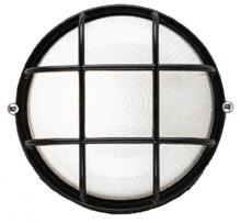 Forecast F9039619NV - One Light Black Etched Glass Marine Light