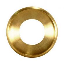 Satco Products Inc. 90/1609 - Turned Brass Check Ring 1/4 IP Slip - Unfinished 5/8""