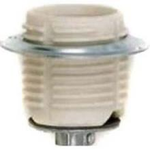 Satco Products Inc. 80/1647 - Keyless Threaded Porcelain Socket w/ Cap & Ring