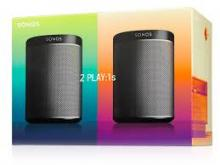 Sonos Play 1 Two Room Starter Black - Play 1 Two Room Starter Black
