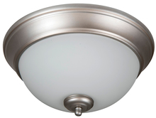 "Jeremiah XP11BN-2W - Pro Builder 2 Light 11"" Flushmount in Brushed Satin Nickel"