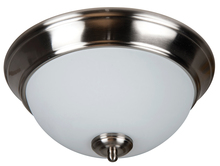 "Jeremiah XP11BNK-2W - Pro Builder 2 Light 11"" Flushmount in Brushed Polished Nickel"