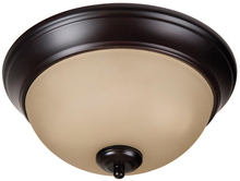 "Jeremiah XP11OB-2A - Pro Builder 2 Light 11"" Flushmount in Oiled Bronze"