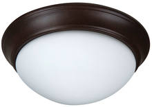 "Jeremiah XPP13AG-2W - Pro Builder Premium 2 Light 13"" Flushmount in Aged Bronze Textured"