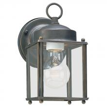 Sea Gull 8592-71 - One Light Outdoor Wall Lantern