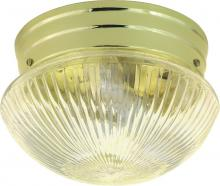 "Nuvo SF76/250 - 1 Light 8"" Mushroom Flush"